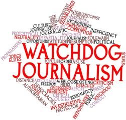 Word cloud for Watchdog journalism