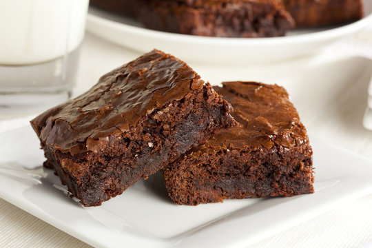 Fresh Homemade Chocolate Brownie