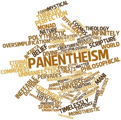 Word cloud for Panentheism