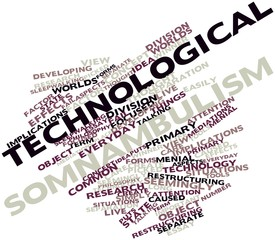 Word cloud for Technological somnambulism