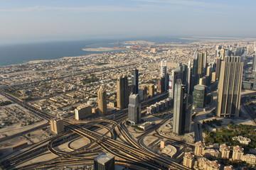 A skyline view of Dubai, UAE