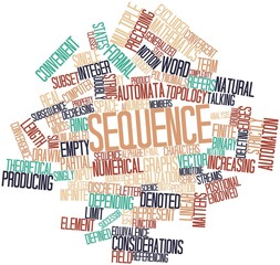 Word cloud for Sequence