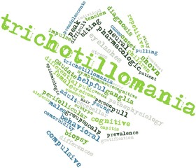 Word cloud for Trichotillomania