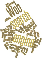Word cloud for Web search engine