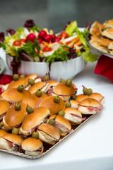 Panini a buffet