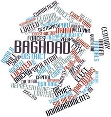 Word cloud for Baghdad