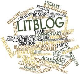 Word cloud for Litblog