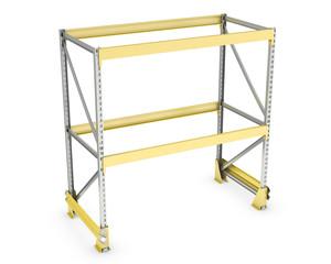 Single pallet rack