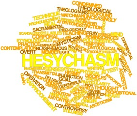 Word cloud for Hesychasm