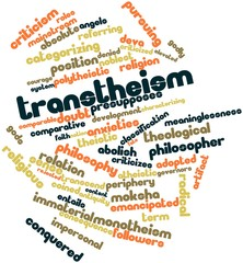 Word cloud for Transtheism