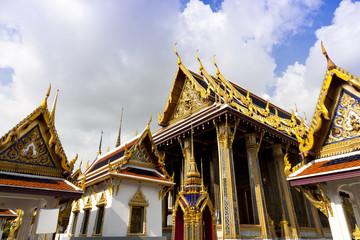Famous Bangkok royal palace, Thailand