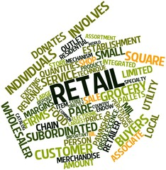 Word cloud for Retail