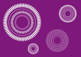 Simple pattern petals