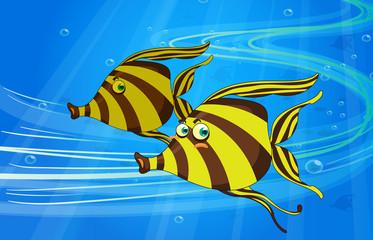 Wall Murals Submarine a fish