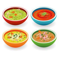 four soup