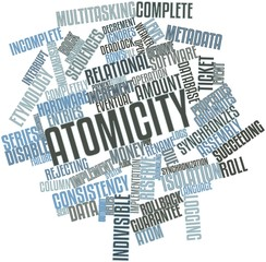 Word cloud for Atomicity