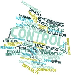 Word cloud for Control