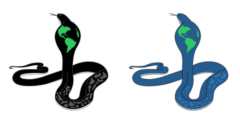 Earth under the control of the Snake