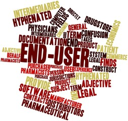 Word cloud for End-user