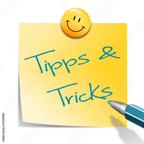 zettel smiley tipps und tricks stockfotos und lizenzfreie vektoren auf bild. Black Bedroom Furniture Sets. Home Design Ideas
