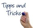 Schreiben - Tipps und Tricks