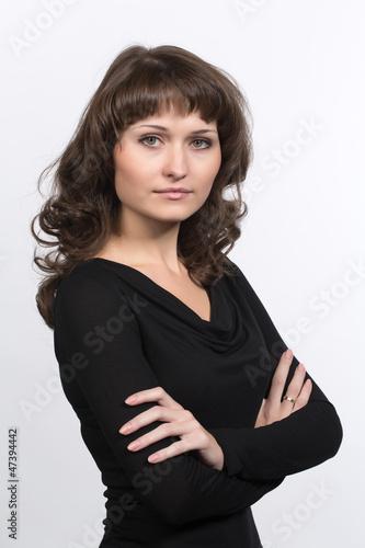 Как сделать портрет на белом фоне