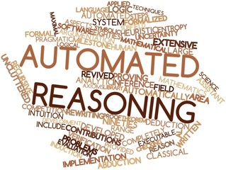 Word cloud for Automated reasoning