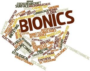 Word cloud for Bionics