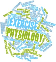 Word cloud for Exercise physiology