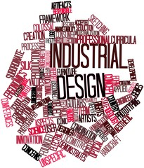 Word cloud for Industrial design