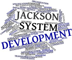 Word cloud for Jackson system development