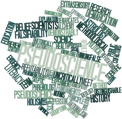 Word cloud for Pseudoscience