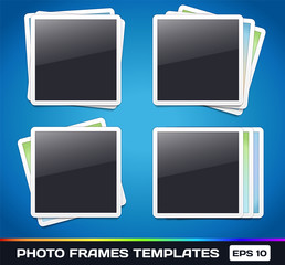 Template: Vector Photo Frames Gallery