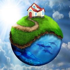 eco earth1 - fototapety na wymiar