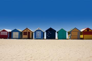 Australia tour to Brighton Beach bathing boxes