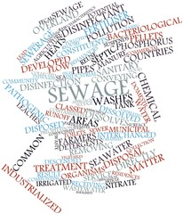 Word cloud for Sewage