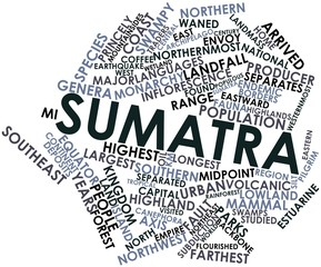 Word cloud for Sumatra