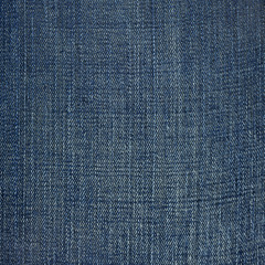 Striped textured blue used cotton jeans denim vintage background