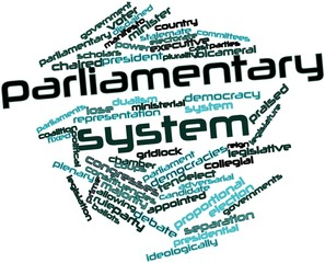 Word cloud for Parliamentary system