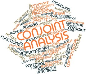 Word cloud for Conjoint analysis