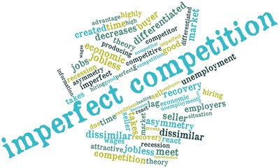 Word cloud for Imperfect competition