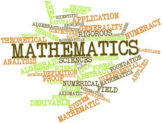 Word cloud for Mathematics