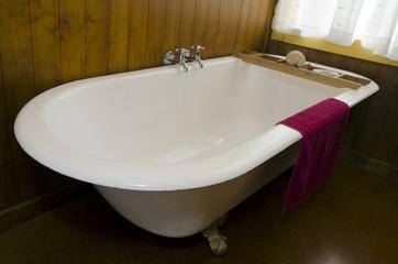 An old vintage bath