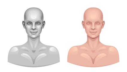Model head