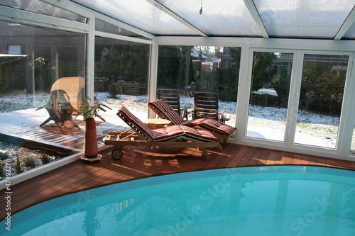 Wintergarten mit Pool\