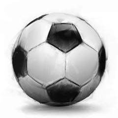 Painterly Soccer Ball