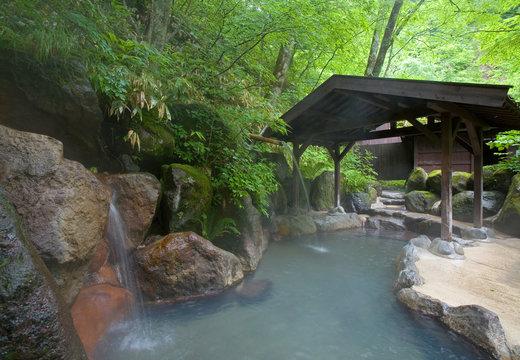 奥飛騨温泉郷の露天風呂