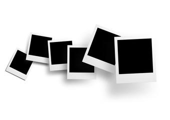 Vector polaroid collection