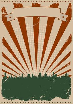 Cool Vintage American Poster