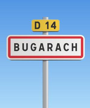 Panneau Bugarach